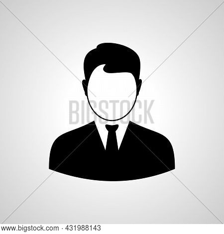 User Sign Icon. Person Symbol. Human Avatar Icon. Man Avatar,