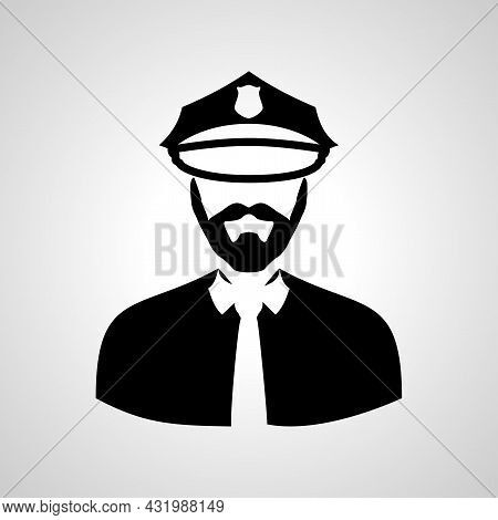 Police Officer Avatar Icon. Police Officer Icon