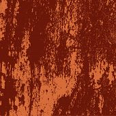 Vector detail of a rusty grunge metal texture poster