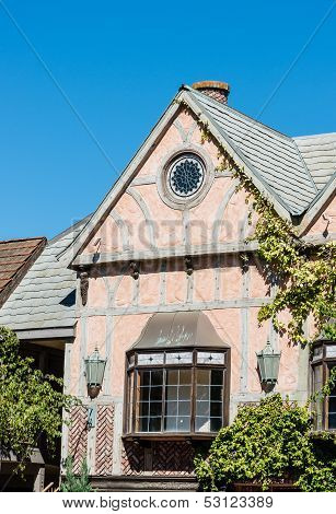 Danish Style Architecture In Solvang