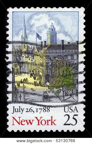 New York Statehood Bicentennial (united States)
