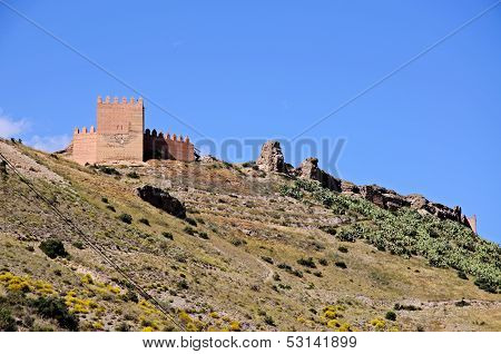 Arabic Fortress, Tabernas, Spain.