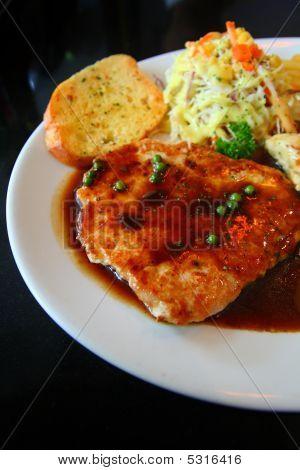 Black Pepper Pork Steak