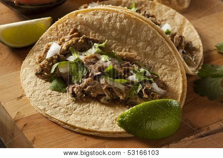 Traditional Pork Tacos