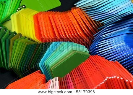 Color Samples For Industrial Design