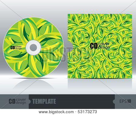 Cd Cover Design Template Set 5