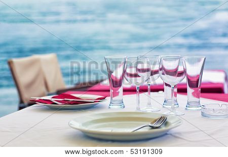 Outdoor Sea Restaurant