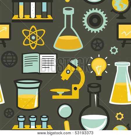 Vector Pattern - Education And Science
