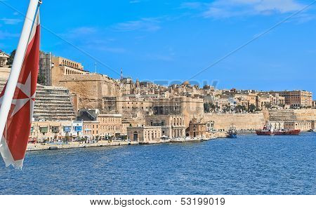 View To Malta