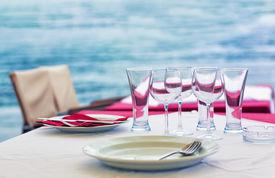 Outdoor Sea Restaurant