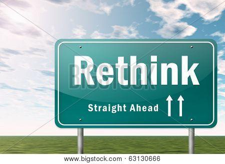 Highway Signpost Rethink