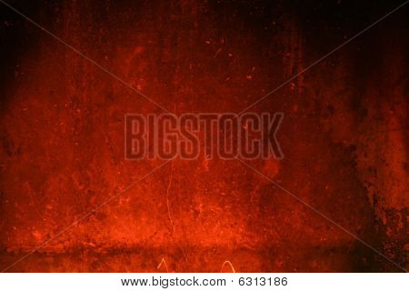 Texture With A Glow From A Fireplace