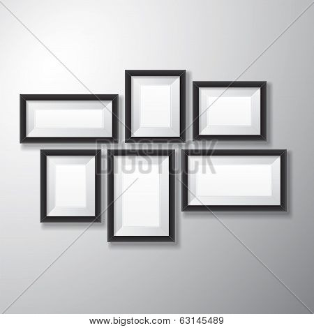 Picture Frames Black Variety