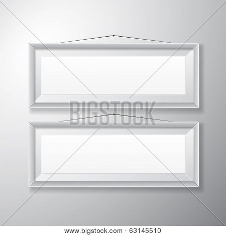 Picture Frames White Horizontal