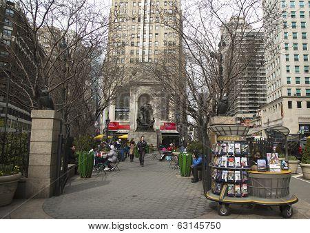 Herald Square on Broadway in Manhattan