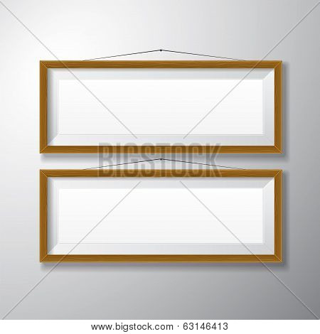 Picture Frames Wooden Horizontal