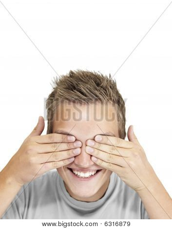 Hands Cover Eyes