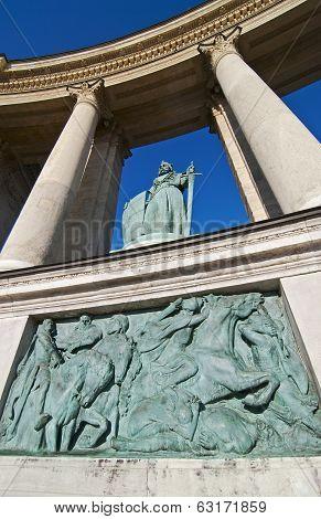 Heroes Square (hosok Tere) Budapest, Hungary