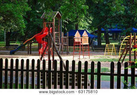 Summer At The Playground
