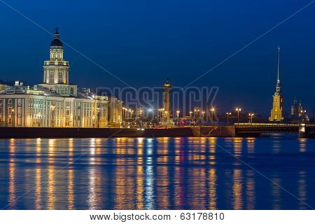 The Iconic View Of St. Petersburg