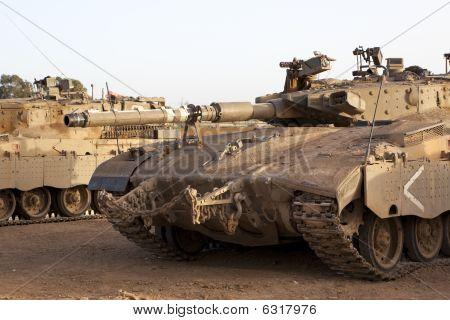 Merkava Mk 4 Baz Main Battle Tank