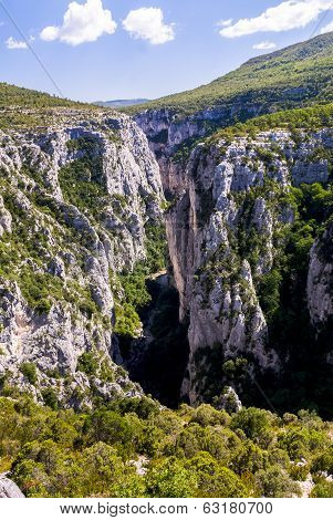 The Verdon Gorge in south-eastern France Haut Provence poster