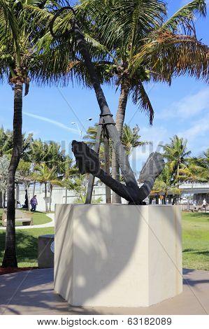 Anchor Sculpture