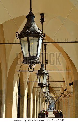 The Gothic Arcades Of Sukiennice