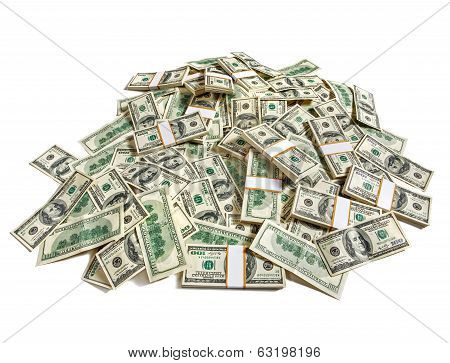 Huge pile of money