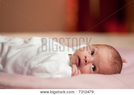 Awake Little Newborn