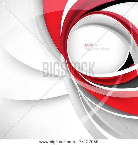 esp10 vector round business frame background