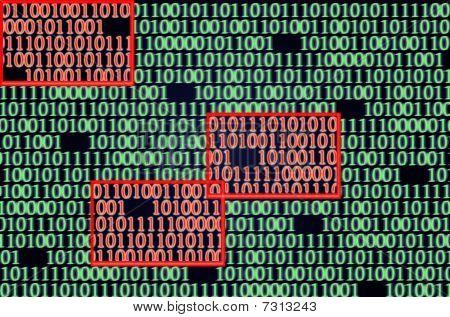 Error Detected In Binary Code