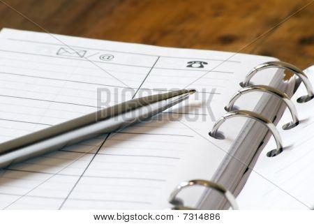 Pen & Address book