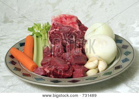 Beef Stew Fixings