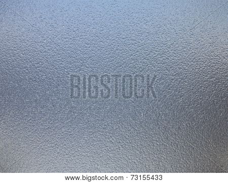 Metal foil, mat wrinkled glass or abstract chrome texture