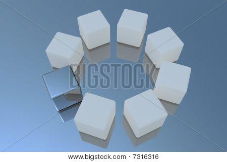 Square - Leadership Concept