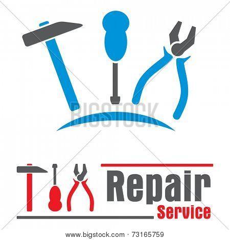 Concepts symbols for repair service