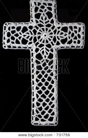 Crocheted Cross