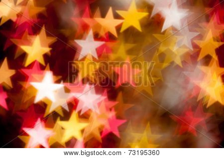 star shape as background