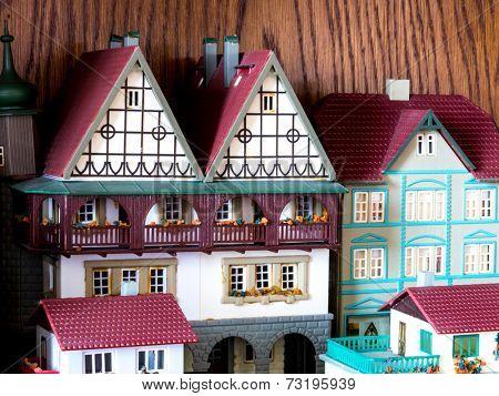 GOMEL, BELARUS - August 21, 2014: Miniature toy, made in DDR. DDR is the German acronym for Deutsche Demokratische Republik or German Democratic Republic, a former state in Europe, 1949-1990.