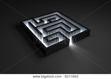 Small Shiny Maze