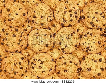 Chocolate Chips Cookies Wallpaper