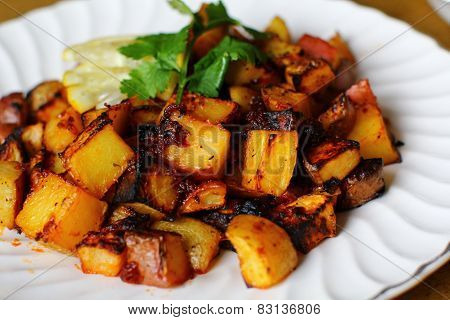 Broiled Potatoes