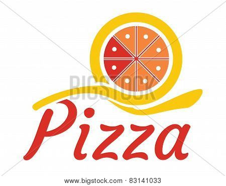 Gastronomy Concept With Abstract Pizza