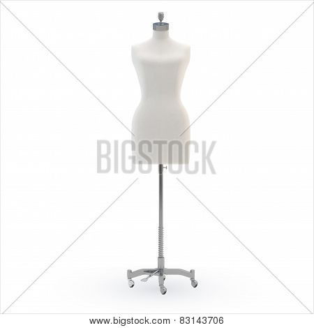 Female mannequin, vector
