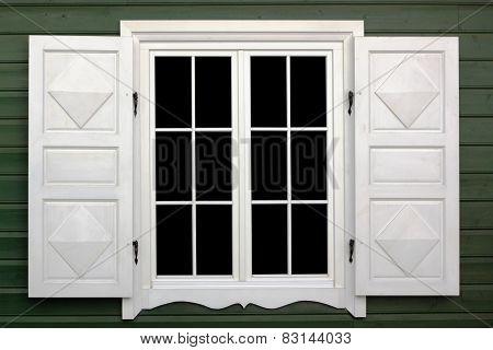 Village White Window