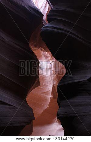 Inside the Upper Antilope Canyon