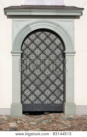 Modern Iron Door