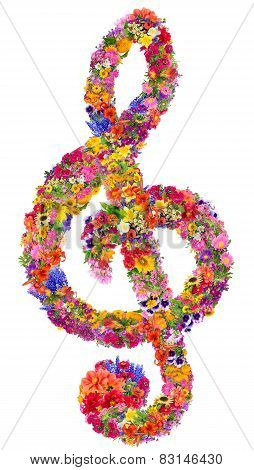 Floral Clef
