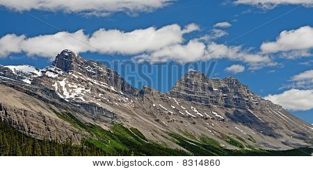 Cirrus Mountain In Alberta